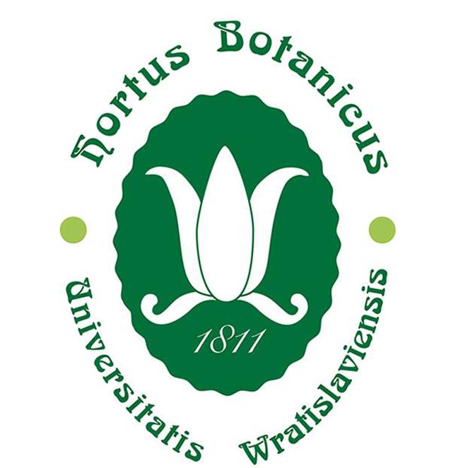 Znalezione obrazy dla zapytania ogród botaniczny uniwersytetu wrocławskiego logo